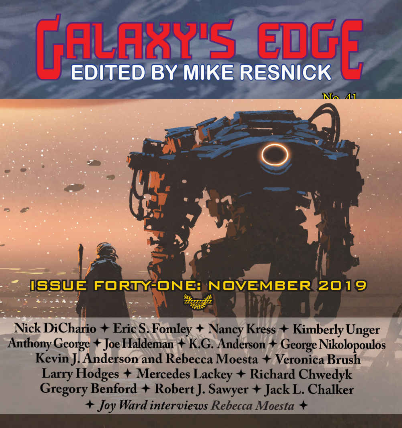 Cover Image for Galaxy's Edge Issue 41